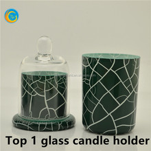 glass material hurricane votive candle vase