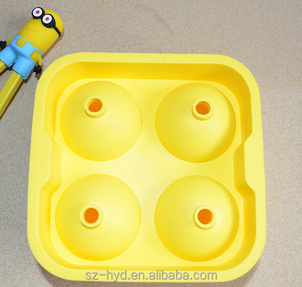 Amazon Hot Selling 2016 Custom Silicone Ice Cube Tray