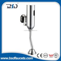 Brass chrome plated chinese saving water auto stop self Closing urinal flush valve Made In China