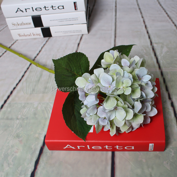 Lastest design factory making artificial dried flower hydrangea