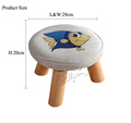 2016 new design cheap round-shaped kids step stool