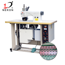 Ultrasonic lace cutting machine for angel wings