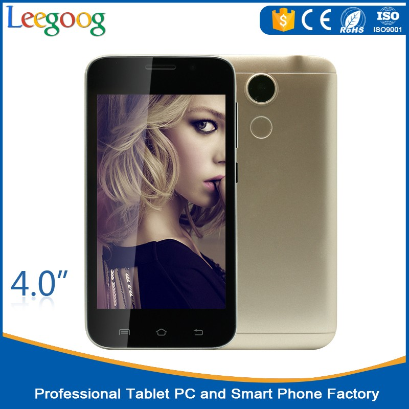 Dual Sim Low price China Factory Mobile Smart phone 4inch mobile phone