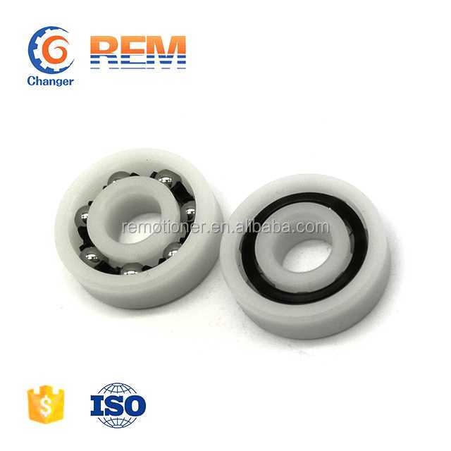 plastic bearing 6202 6201 6200 6000 6800 6900 with glass balls