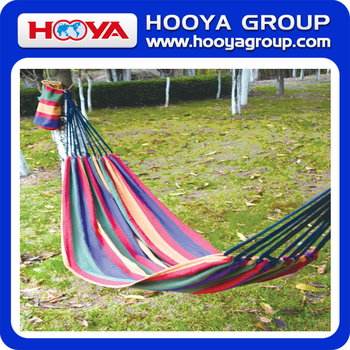 200*80cm outdoor double cotton portable hammock