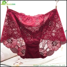 Hot style women underware see through women sexy panties lace <strong>underwear</strong> pink
