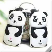 Cute Panda Silicone 3D Case for iPhone 4 4S With Retail Package Various Colors