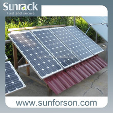 solar roof mounts &pitched tile roof mounting system & flat roof mounting system