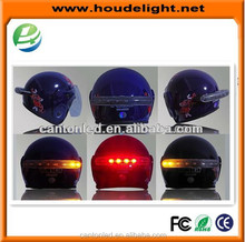 Hot selling light blue motorcycle helmet for motorcycle,motorcycle led turn signal light