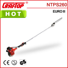 26cc 1.6m 2-stroke engine long handle tree pruners CE EUROII