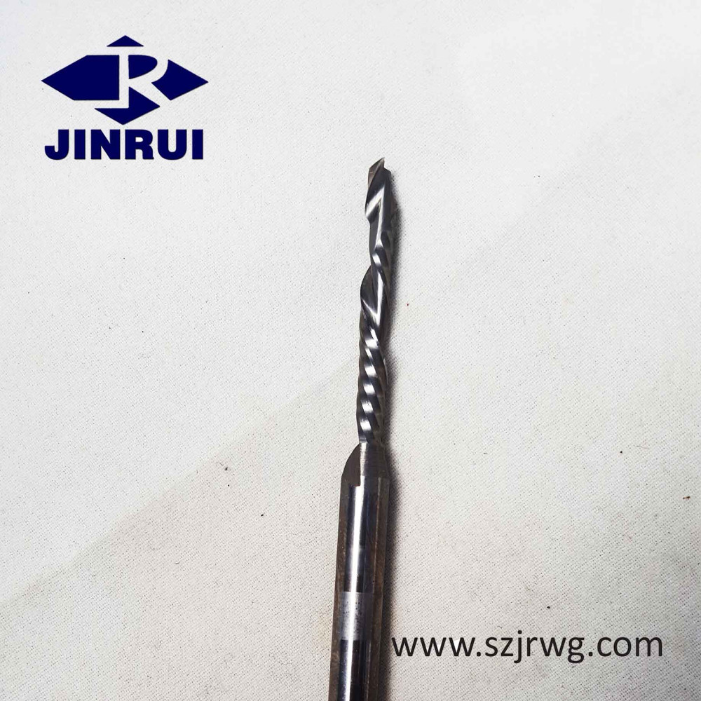 One Flute Woodworking Compression Spiral End Mill