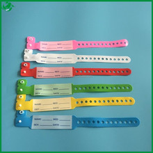Entertaiment High Quality Custom Promotion Patient Id Bands