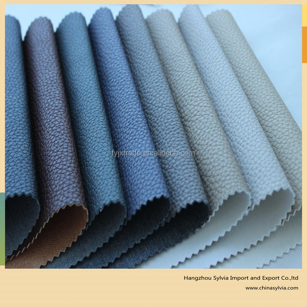Hot Selling High Grade Sofa Making Artificial Leather for furniture, home textile