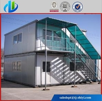 prefab modern house with EPS Sandwich panel