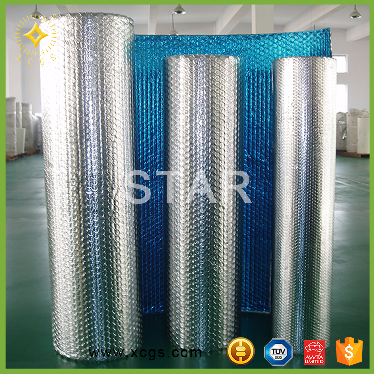 Chinese commercial ceiling insulation of aluminum foil and bubble
