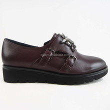 Ladies leather cheap wholesale shoes 88 in china