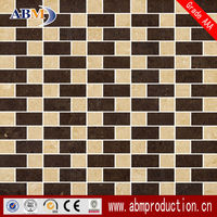 Porcelain stone mosaic tile good sales in oversea market with best quality for wall and floor