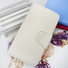 white purse leather flip cover case for samsung galaxy s3