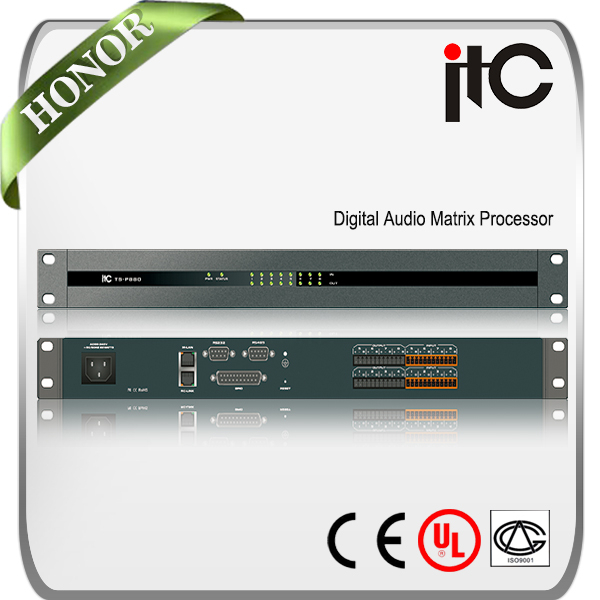 ITC TS-P880 High Performance Internal 8*8 Matrix Digital DSP Audio Processor