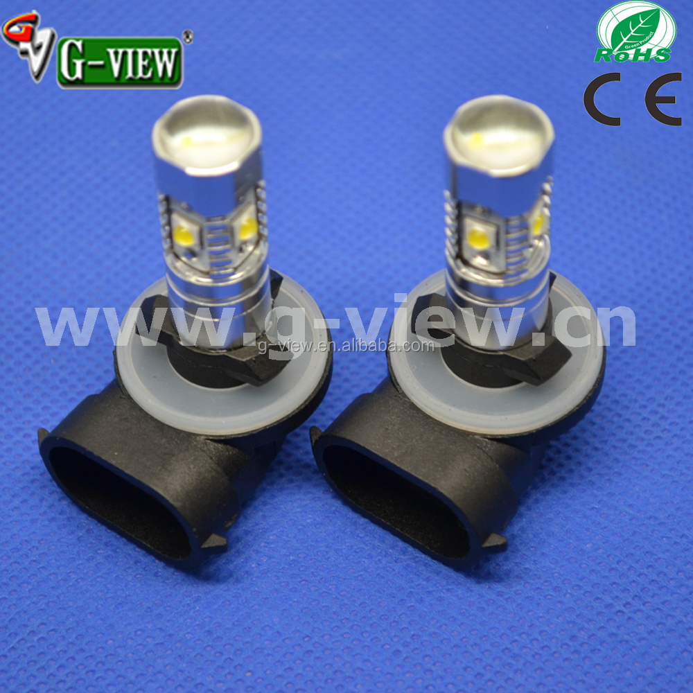 Factory price car led 880 881 led fog lamp h27 auto bulb