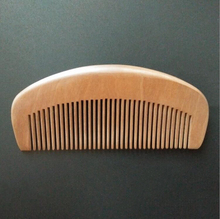 QS brands wholesale cheap Nanmu wooden beard comb