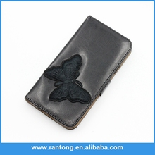 HIgh quality leather flip mobile phone case for samsung galaxy S3/S4/S5 Note2/Note 3