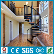 high quality stair metal used steel stairs indoors