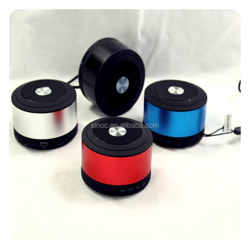 top selling in alibaba portable mini speaker with fm radio usb input for chrismas gift