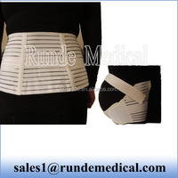mesh fabric maternity belt with hard rib