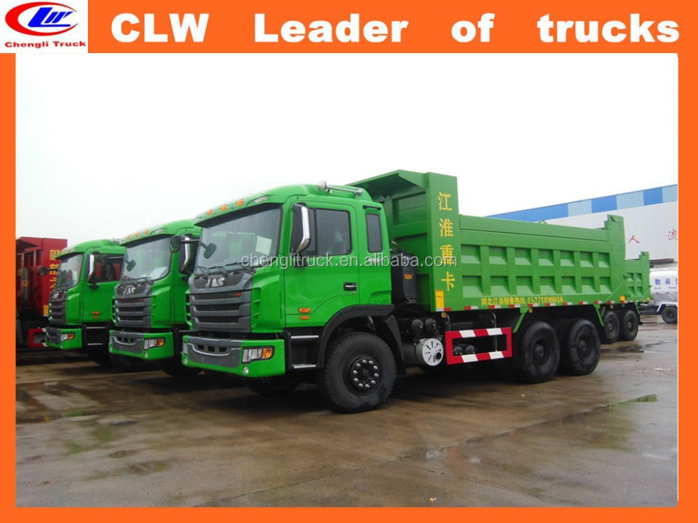 Heavy duty JAC 6*4 250-350hp tipper dump truck