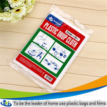 Painting protection polythene sheeting dustproof plastic film for furniture
