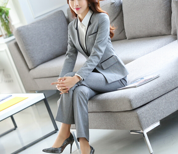 high quality women suit office ladies uniform design wholesale