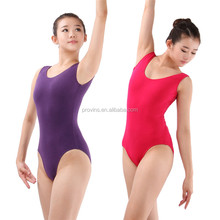 Hot Sale High Quality Ballet Tight Bodysuits Wholesale Girls Custom Made Basic Tank Dance Leotards