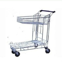 Hot Sell Shopping Basket Trolley With