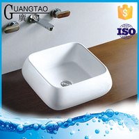 GT-5058 bathroom items made in China New Porcelain Countertop Wash Basin Sizes