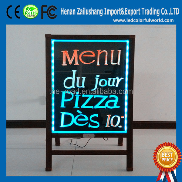 Battery Operated Led Board Hot Sale Led Sign Board Wholesale Led Writing Board