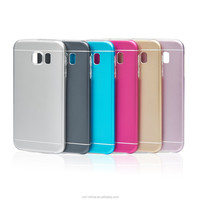 for samsung galaxy s6 case 2 in 1 aluminium tpu mobile phone case