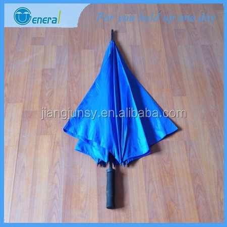 fashion unique square design fiberglass windproof golf umbrella
