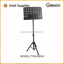 New style hot sale decorative metal music stands