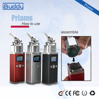 Alibaba China Manufacturer Custom Electronic Cigarette Portable Dry Herb E-Vaporizer