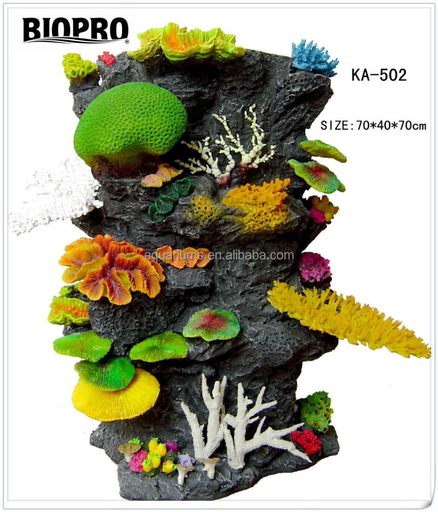 BIOPRO brand Aquarium large size decoration craft ornaments aquarium imitation coral reef