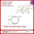 XD P05009 0.7x5mm 925 Sterling Silver Jewelry Finding Rings Open Jump Ring