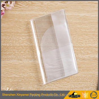 shenzhen factory waterproof students grid exercise book soft plastic cover/transparent pvc book cover/pvc plastic book covers