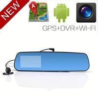 "Discount Android 4.0.3 GPS Bluetooth Wifi 7"" interior rearview mirror"