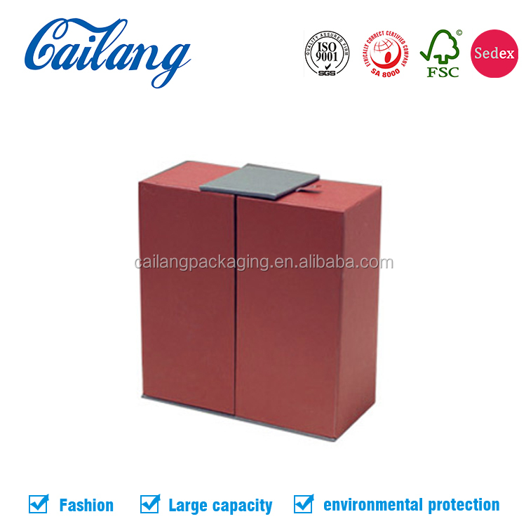 mini creative magnetic closure cardboard perfume/fragrance /sweet candle packaging box