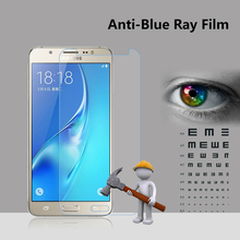 Supply anti blue light full size cover shatter proof screen protector for samsung J1