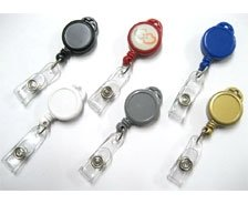 Multi-Color Lanyard Retractable Badge Reels