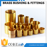 coupling rubber bush door bushing kit square tube square hole brass bush