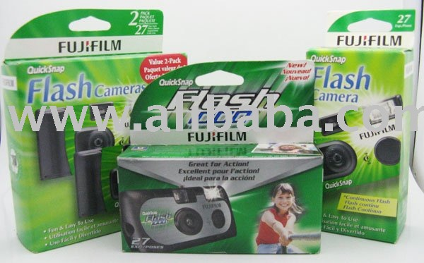 Lot of 12 Assorted FujiFilm Disposable Cameras