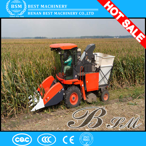 picker and peeling function mini corn maize combine harvester price